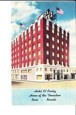 Reno, Nevada   Hotel El Cortez  1940s Linen