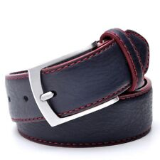 Men Belt Italian Design Casual Jeans Accessories Fashion Style Faux Leather