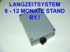 LANGZEIT GSM ALARM SYSTEM - Alarmanlage GSM - ALARMHANDY im Outdoor IP65 Gehäuse