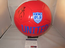 DEMARCUS BEASLEY SIGNED NIKE TEAM USA SOCCER BALL PSA/DNA W60427 2014 WORLD CUP