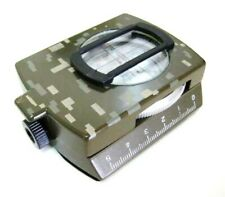 Quality Metal Prismatic Compass - Military Model - Sale !