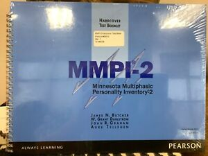 MMPI-2 Hardcover Test Booklet