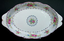 Vintage Royal Albert Petit Point Pattern Oval Serving Tray 26cm Looks in VGC