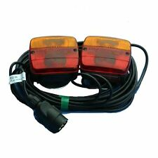 Magnetic Trailer Rear Towing Lightboard  Lamps Lights Cluster Trailer Board