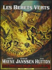 The Green Berets French Grande Movie Poster John Wayne  *Hollywood Posters*