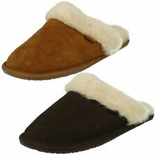 Ladies Clarks Slippers 'Wren Bird'