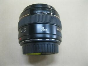 CANON EF 50mm 1:1.4 USM LENS ~ VERY GOOD CONDITION