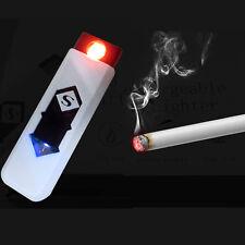 Electronic Lighter USB Recharge Gasfree Cigarette Smoke, Cigar Elec Lighter Tool