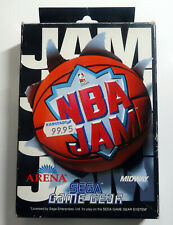 NBA Jam - boxed incl manual - SEGA Game Gear GG - 1994 - PAL