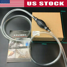 Car Hand Manual Siphon Syphon Transfer Hose Pump Fluid Liquid Water-Gas Gasoline