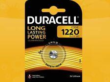 2 X Duracell CR1220 DL1220 Blister de cellule au lithium Bouton batteries