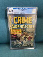 Crime SuspenStories #12 CGC 6.0 VINTAGE EC Pre-code Horror Golden Age