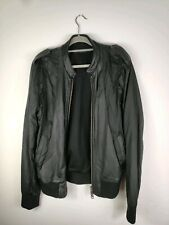 AllSaints Coats & Jackets Black Leather Outer Shell for Men