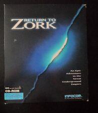 Return to Zork CD version