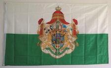 FAHNE FLAGGE 0380 KÖNIGREICH SACHSEN 1806 - 1918  MEIN LAND MEIN SACHSEN NEU