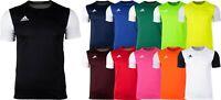 Adidas Mens T Shirt New Estro 19 Gym Sports Tee Top Football S M L XL XXL Crew