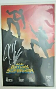 Batman Superman #1 - Signed by Joshua Williamson Exclusive Variant Ben Oliver