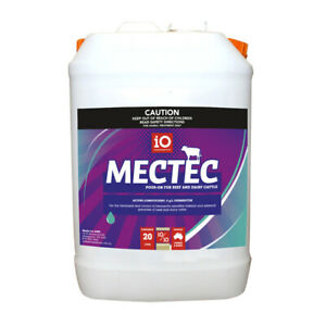 Mectec Cattle Drench Pour-On 20 Litre (Equiv, Ivomec Ausmectin)