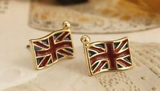 2pairs Lovely England National Flag Souvenir Olympic Game Jewelry Earrings