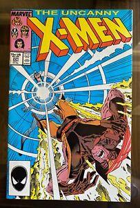 Uncanny X-men #221 1st Print - 1st Appearance of Mr. Sinister - Very Fine