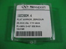 Newport Flat Mirror Zerodur -- 10Z20DM.4 -- Used