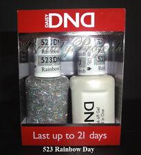 DND Daisy Soak Off Gel Polish Rainbow Day 523 full size 15ml LED/UV gel duo