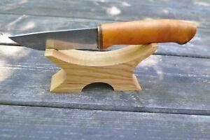 Oak  Stand For Knife Display Holder