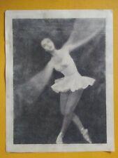 1990's Charcoal Sketch Ballet Dancer