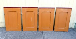 Set of 4 x Victorian Curved CHURCH PEW DOORS approx 2ft tall