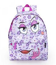Delbag COME HERE LILAC Violet Backpack Purple Rucksack Girls Work School Bag