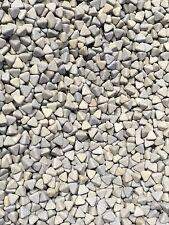 1kg Korund Poliersteine ca 0,8 - 1 cm Schleifsteine Poliertrommel Schleifkörper