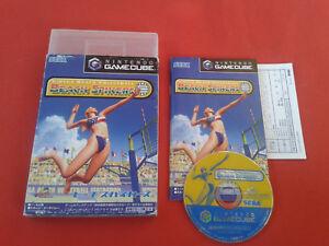 Virtua Beach Volleyball Spikers Nintendo Gamecube Gc Jap Japan Complete
