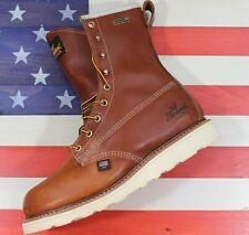 "Thorogood 8"" American Heritage Soft Toe Waterproof Insulated [814-4009] USA MADE"