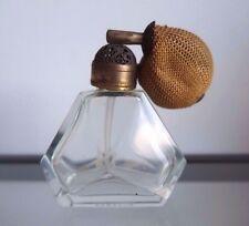 Vintage Antique Perfume Fragrance Bottle Atomizer Spray Vanity Glass Duramax vtg