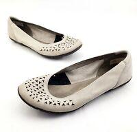Merrell Mimix Romp Flats Leather Dusty Gray Slip On Shoes Women's Size 9 M