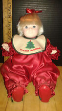 """11""""My First Christmas Doll by Pauline 1984"""