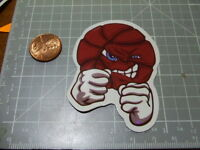 GLOSSY SKATEBOARD MAD BASKETBALL Sticker/ Decal Stickers Actual Pattern NEW