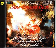 MICHEL CORRETTE- Six Concertos Op. 26- CD- Bohdan Warchal (Michalko- Organ)