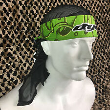New Dye Paintball Headwrap Protective Head Wrap - Slime Green