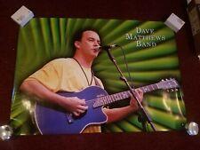 """Dave Matthews Poster 2000 Vintage Poster 34""""W x 24""""L (Green)"""