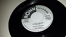 """BUSTER BENTON Spider In My Stew / Going Fishing RONN 105 PROMO SOUL 45 7"""""""
