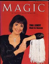Tina Lenert Maid in Heaven Magic Independent Magazine for Magicians Nov 1995