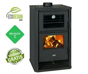 Cooking Stoves Wood Burning Stove and Coal with Oven Prity FG D 14 KW BImSchV II