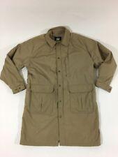 Woolrich Parka Coat Jacket Wool Blend Lining Insulated Mens Tall XL Tan USA