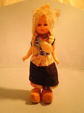 Vintage Dutch Doll in Holland Costume from the Netherlands - Free Shipping