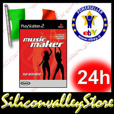 Magix Music Maker - Play Whit Music - Sony PlayStation 2 - PS2 Game - Inglese