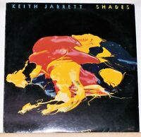 KEITH JARRETT - SHADES - ORIGINAL 1976 LP Record Album - Jazz