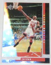 1996/97 Michael Jordan NBA Upper Deck SP Reflective Sample Promo Card #16 NM-MT