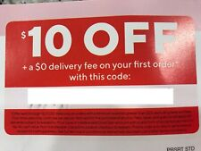 DoorDash $10 off $20.01 + $0 Delivery Fee Coupon Code - Exp. 12/17/2020