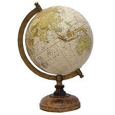 ROTATING WORLD MAP GLOBES TABLE DECOR OCEAN GEOGRAPHICAL EARTH DESKTOP BM-222
